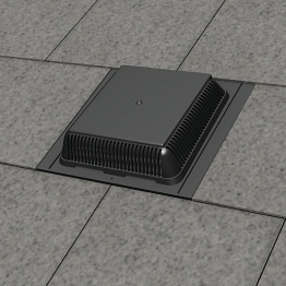 Manthorpe Slate Vent Black 300mm X 600mm