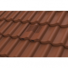 Manthorpe Castellated Tile Vent Dark Brown Gtv-cs-br