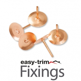 Easytrim Copper Disc Rivets (1000)