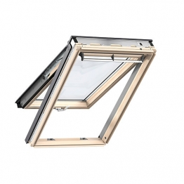 Velux Top Hung Roof Window 1340 X1400mm Lacquered Pine Gpl Uk08 3070