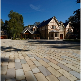 Natural Paving Fossestone York Mix Mixed Pack