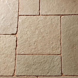 Patio Project Pack 24mm Calibrated Tuscan Limestone (18.9m²)