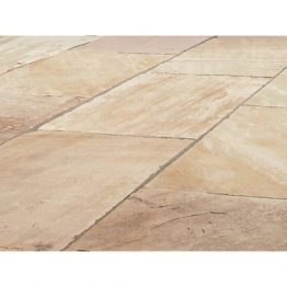 Natural Paving Products Brown Calibrated Sandstone Project Pack 15.84m2