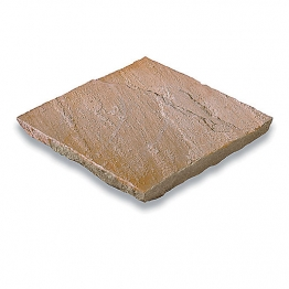 Bradstone Natural Sandstone Paving Slab Sunset Buff 900 X 600 X 22mm