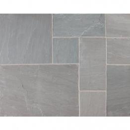 Riven Fairstone Natural Sandstone 275 X 275 X 22mm Silver Birch Multi