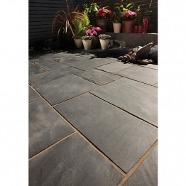 Bradstone Natural Slate Blue Black 300 X 300 X 18-23mm