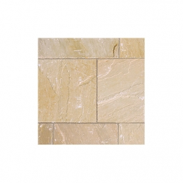 Marshalls Riven Fairstone Natural Sandstone Golden Sand Multi 560 X 560 X 22mm