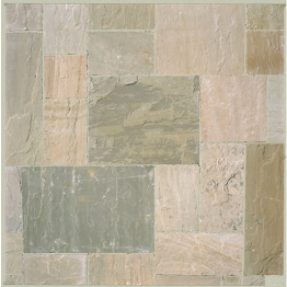 Marshalls Riven Fairstone Natural Sandstone Autumn Bronze Multi 560 X 560 X 22mm