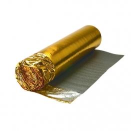 4trade Sonic Gold Underlay Foil Vapour Barrier & Noise Reduction 15m X 1m X 5mm