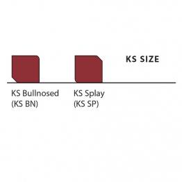 Marshalls Keykerb Small Ks Charcoal 125mm X 100mm X 127mm - Pack Of 378