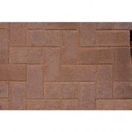 Marshalls Keyblock Concrete Block Paving 200mm X 100mm X 60mm Marigold
