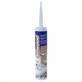 Mapei Silwood Acrylic Sealant For Wooden Floors White 310ml