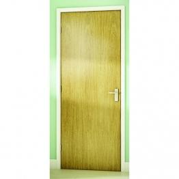 Int Flush Oak Foil Hollow Core Door