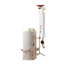Electric Heating Company Compact Cpsicomp15/180 Electric Boiler Complete With Indirect Cylinder 14.4kw 180l