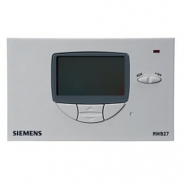 Siemens Rwb27 Electronic Menu 7 Day Timeswitch