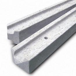 Supreme Lite Concrete Post End 6 9 In