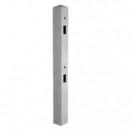 Supreme Concrete Fence Post 9ft Mortice Corner Mrt275c