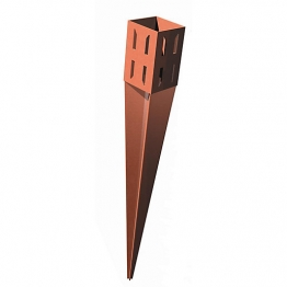 Metpost Wedgegrip Drive Fence Support Spike 75mm X 75mm X 600mm