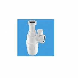 Mcalpine Anti-syphon Adjustable Inlet Bottle Trap 1 1/4in