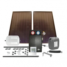 Grant Gsskit3 Solar 2 Panel Bronze In-roof Kit (tile)
