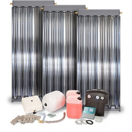 Solfex 3 X Cpc6 Oem Vac Tube Solar Thermal Prestige Pack Slate