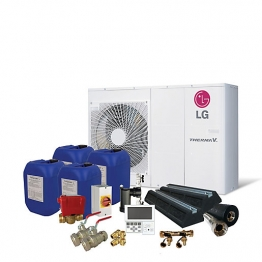 Lg Therma-v 9kw Prestige Air Source Heat Pump Pack