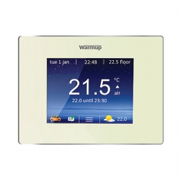 Warmup 4ieob Smart Wifi Thermostat Controller Porcelain