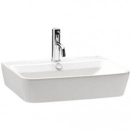 Iflo Capra Basin White 600mm X 450mm