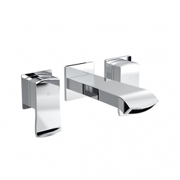 Dorona Wall Mounted Bath Filler Chrome