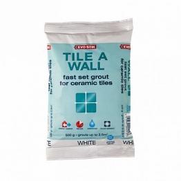 Evo-stik Tile A Wall Speed Grout White 500g