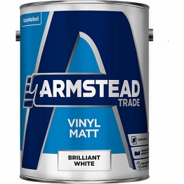 Armstead Trade Vinyl Matt Brilliant White 5l
