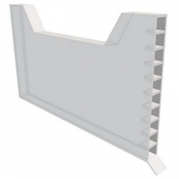 Manthorpe Weep Vent White 9mm X 65mm