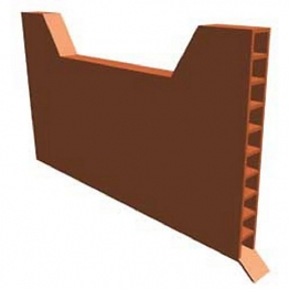 Manthorpe Weep Vent Brown 9 X 65mm