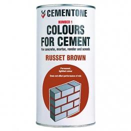 Cementone No1 Colour For Cement Russet Brown 1kg