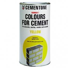 Cementone No1 Colour For Cement Yellow 1kg