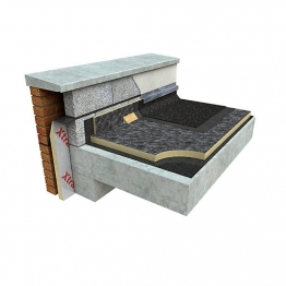Xtratherm Flat Roof Board Built Up Roofing 1200 X 600 X 100 Fr-bg