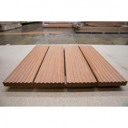 Fsc Hardwood Decking 19mm X 90mm