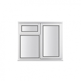 Stormsure Softwood Plain Casement 24mm Fully Glazed Window 1195 X 1195mm Lew212cvopp
