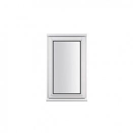 Stormsure Softwood Plain Casement 24mm Fully Glazed Window 625 X 1045mm Lew110copp