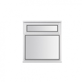 Stormsure Softwood Plain Casement 24mm Fully Glazed Window 910 X 1045mm Lew2n10w
