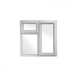 Upvc Window 3pcase Shd6 White 1190mm X 1190mm