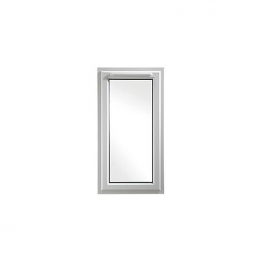Upvc Window Rh Shield6 White 610mm X 1040mm