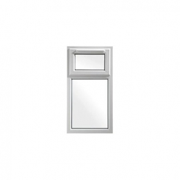 Upvc Window 2p Shield6 White 610mm X 1190mm