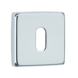 Urfic Standard Square Key Escutcheon Chrome 5245/22