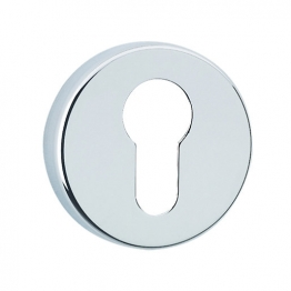 Urfic Euro Round Escutcheon Chrome 5115/22