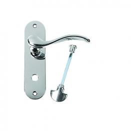 Urfic Geneva Bathroom Handle Polished Nickel