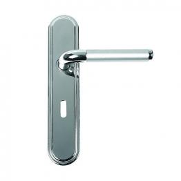 Urfic Vienna Lever Lock Polished Nickel