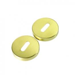 Urfic Escutcheon Standard Lock Plates Brass Effect