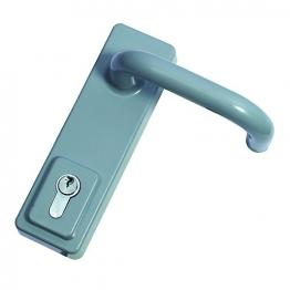 Briton 1413ele Door Handle Outside Access Handle Silver