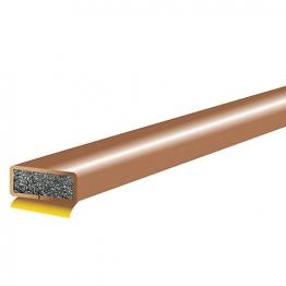 Internalumescent Fire Seal Brown Door Single Pack Fd211 10mm X 4mm X 1.05m